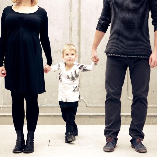 Ania i Marcin z Gabrielem - rodzinnie