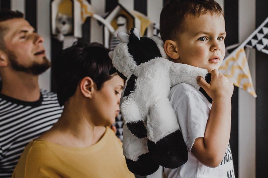 Sesja rodzinna w domu - Poznań